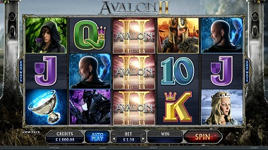 Avalon 2 Slot Base Game