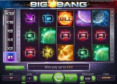 Big Bang Slot NetEnt