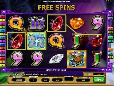 Crystal Gems Casino Game