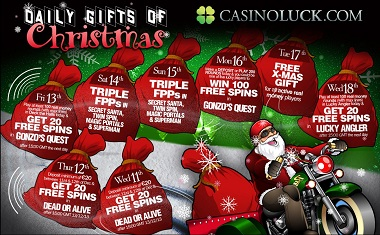 Daily Gifts Christmas CasinoLuck
