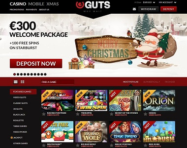 Guts casino contact number