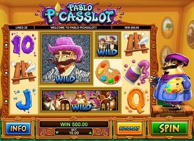 Pablo Picasslot Screenshot
