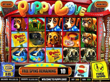 Puppy Love Slot Screenshot
