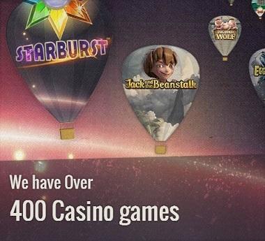 Thrills Casino 400 Games