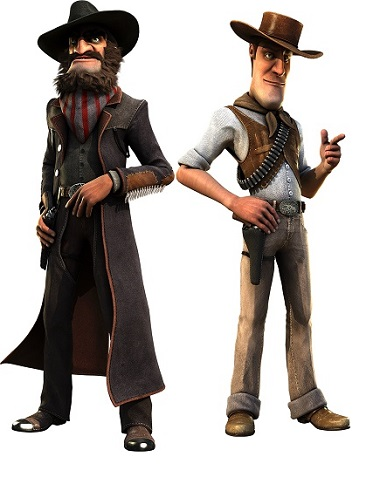 True Sheriff Slot Characters
