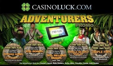 Adventures CasinoLuck
