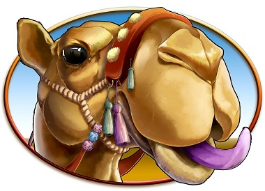Arabian Rose Slot Camel Symbol