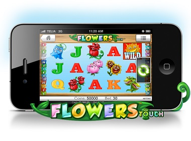 Flowers Touch Mobile
