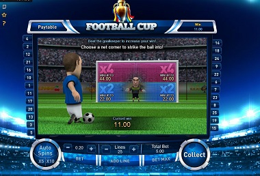 Football Cup Bonus Game