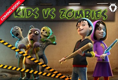 Kids VS Zombies Leander Slot