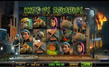 Kids VS Zombies Screenshot