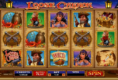 Loose Cannon Slot Microgaming