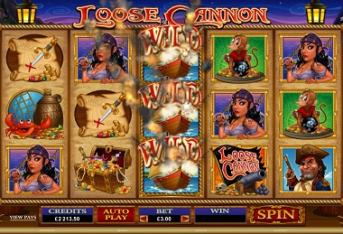 Loose Cannon Slot Screenshot
