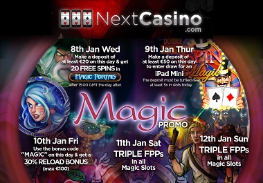 Magic Promotions NextCasino