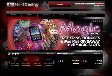 NextCasino Magic Promo