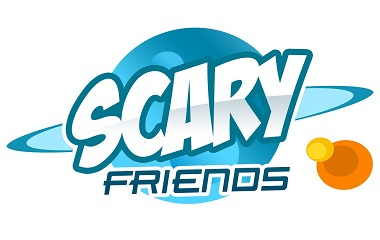 Scary Friends Slot Logo