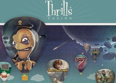 Thrills Casino NetEnt Symbols
