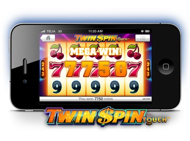 Twin Spin Mobile Slot
