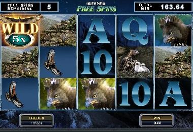 Untamed Crowned Eagle Slot Screenshot