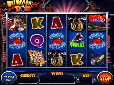 Burglin Bob Slot Screenshot