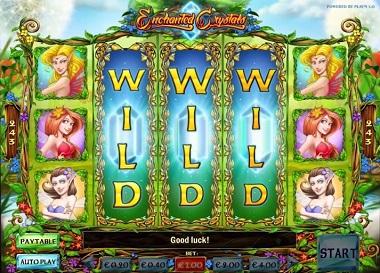 Enchanted Crystals Play'n GO  Slot