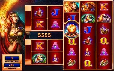 Fire Queen Slot Screenshot
