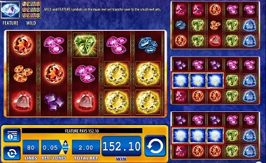 Gems Gems Gems Slot Screenshot