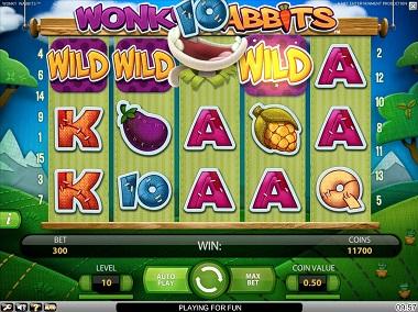 Wonky Wabbits Wild Win