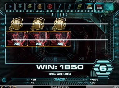 Aliens Slot Game NetEnt