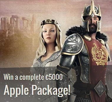Apple Promo Thrills Casino