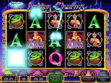 Arabian Charms Slot Barcrest