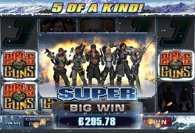 Big Win Girls With Guns Frozen Dawn