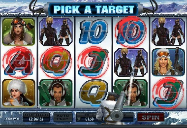 Girls With Guns Frozen Heat Casino Slot