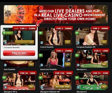 Live Casino NextCasino