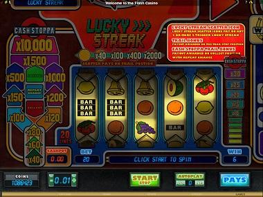 Lucky Streak Slot Big Time