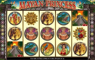 Mayan Princess mobil slot