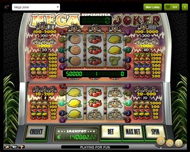 Mega Joker Comeon Casino