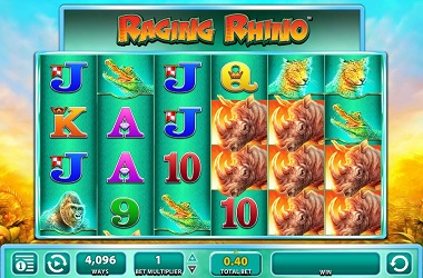 Raging Rhino Casino Game