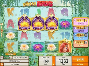 Royal Frog Slot Bonus