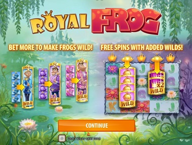 Royal Frog Slot Opening