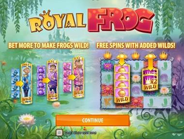 Royal Frog Slot Opening