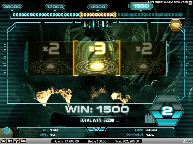 Aliens Bonus Game
