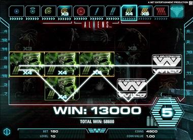 Aliens Mobile Screenshot