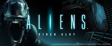 Aliens Video Slot Banner