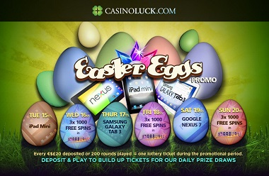 Easter Eggs CasinoLuck