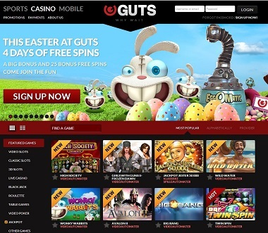 Guts Casino Easter Promotions