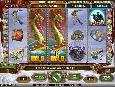 Hall of Gods SuperLenny Casino