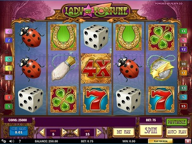 Lady of Fortune Slot Play'n GO