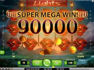 Lights Slot Big Win