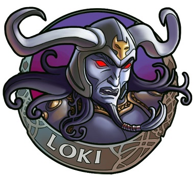 Loki Symbol Hall of Gods